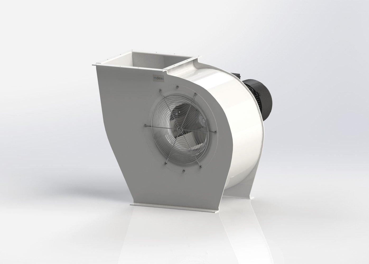 Beispielhafte Darstellung von einem Radialventilator
