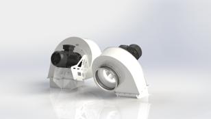 Kundenspezifische Geometrien vom Ventilatoren Hersteller mdexx